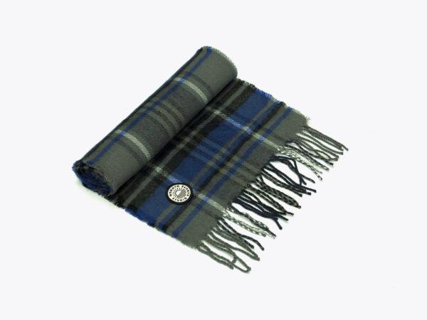 Wemoto scarf ruit blue/black